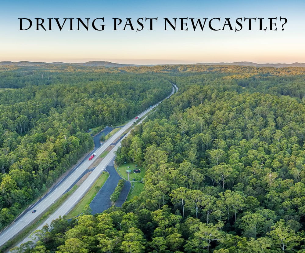 Driving Past Newcastle?