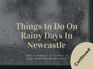 Things to Do On Rainy Days in Newcastle Continued