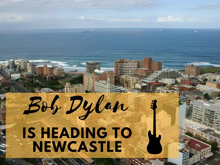 Bob Dylan Is Heading To Newcastle